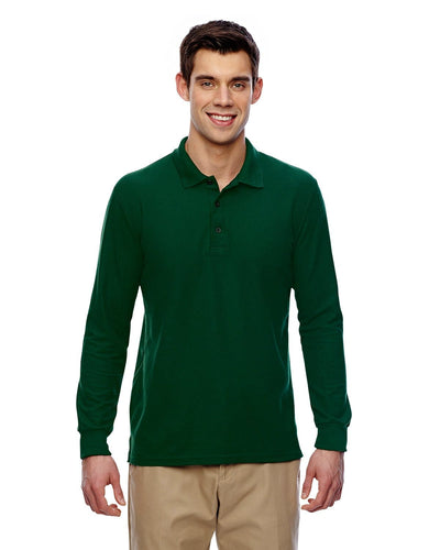 g729-adult-6-oz-double-piqu-long-sleeve-polo-Large-BLACK-Oasispromos