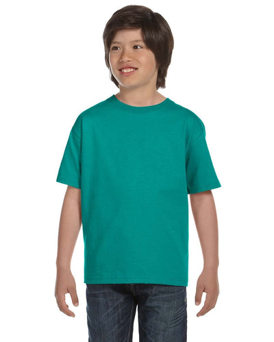 g800b-youth-5-5-oz-50-50-t-shirt-xsmall-XSmall-JADE DOME-Oasispromos