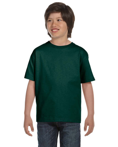 g800b-youth-5-5-oz-50-50-t-shirt-xsmall-XSmall-FOREST GREEN-Oasispromos
