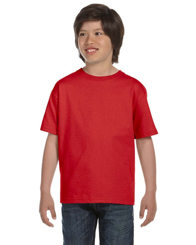 g800b-youth-5-5-oz-50-50-t-shirt-xsmall-XSmall-RED-Oasispromos