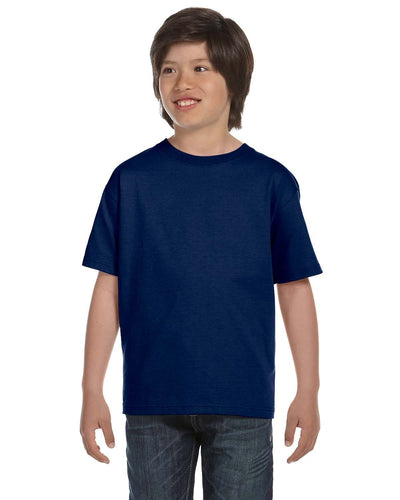 g800b-youth-5-5-oz-50-50-t-shirt-xsmall-XSmall-NAVY-Oasispromos