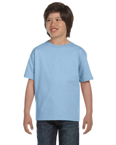 g800b-youth-5-5-oz-50-50-t-shirt-xsmall-XSmall-LIGHT BLUE-Oasispromos