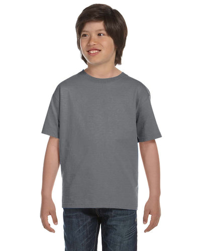 g800b-youth-5-5-oz-50-50-t-shirt-xsmall-XSmall-GRAVEL-Oasispromos