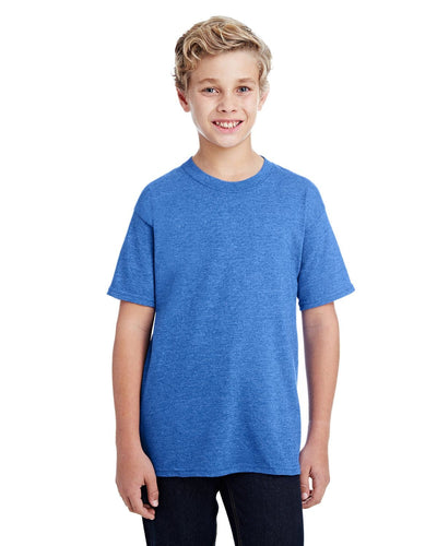 g800b-youth-5-5-oz-50-50-t-shirt-xsmall-XSmall-HTHR SPORT ROYAL-Oasispromos