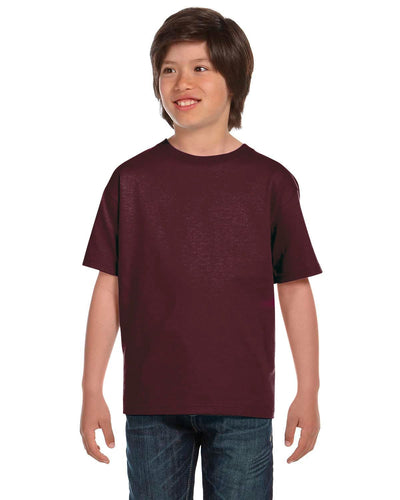 g800b-youth-5-5-oz-50-50-t-shirt-large-xl-Large-SPRT DRK MAROON-Oasispromos