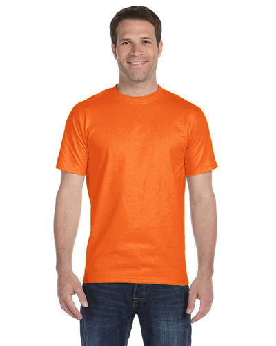 g800-adult-5-5-oz-50-50-t-shirt-small-medium-Small-S ORANGE-Oasispromos