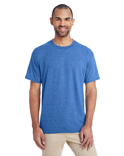 g800-adult-5-5-oz-50-50-t-shirt-large-xl-Large-HTHR SPORT ROYAL-Oasispromos