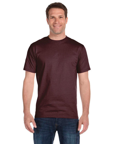 g800-adult-5-5-oz-50-50-t-shirt-small-medium-Small-SPRT DRK MAROON-Oasispromos