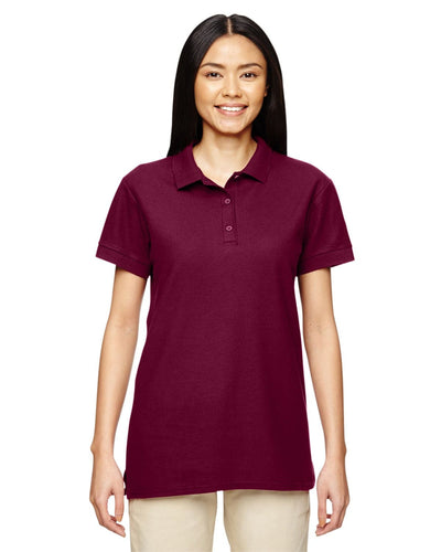 g828l-ladies-premium-cotton-ladies-6-6oz-double-piqu-polo-Large-CARDINAL RED-Oasispromos