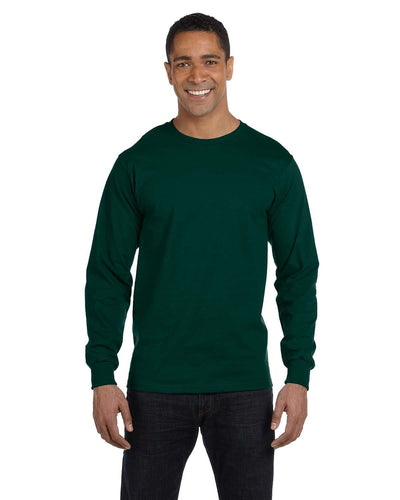 g840-adult-5-5-oz-50-50-long-sleeve-t-shirt-Small-BLACK-Oasispromos