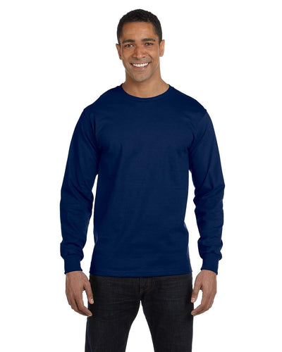 g840-adult-5-5-oz-50-50-long-sleeve-t-shirt-XL-BLACK-Oasispromos