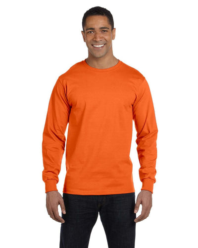 g840-adult-5-5-oz-50-50-long-sleeve-t-shirt-Medium-ASH GREY-Oasispromos