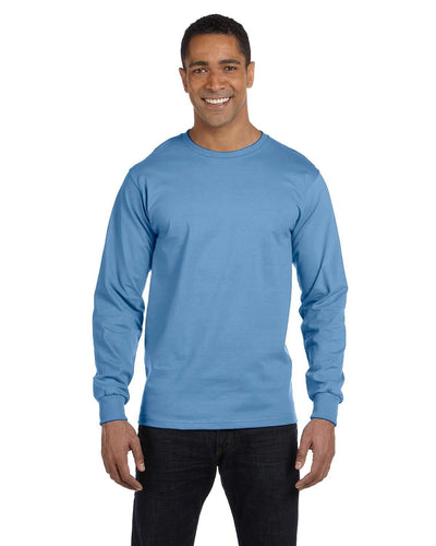 g840-adult-5-5-oz-50-50-long-sleeve-t-shirt-2XL-ASH GREY-Oasispromos