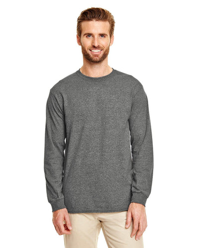 g840-adult-5-5-oz-50-50-long-sleeve-t-shirt-Medium-BLACK-Oasispromos