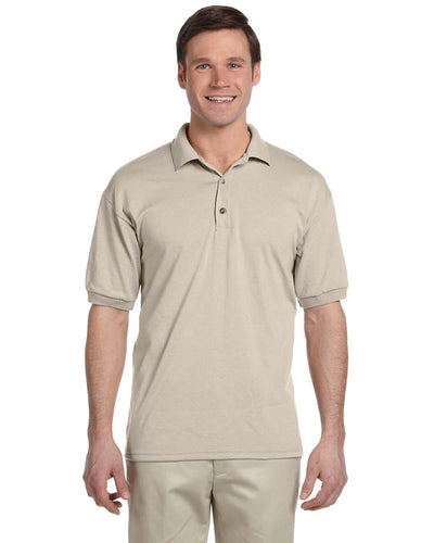 g880-adult-6-oz-50-50-jersey-polo-small-medium-Small-SAND-Oasispromos