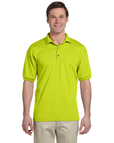 g880-adult-6-oz-50-50-jersey-polo-4xl-5xl-5XL-SAFETY GREEN-Oasispromos