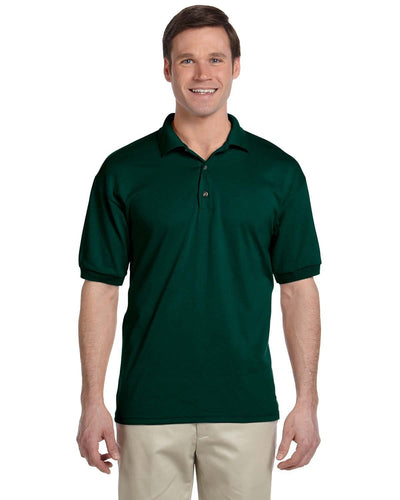 g880-adult-6-oz-50-50-jersey-polo-4xl-5xl-5XL-GRAPHITE HEATHER-Oasispromos