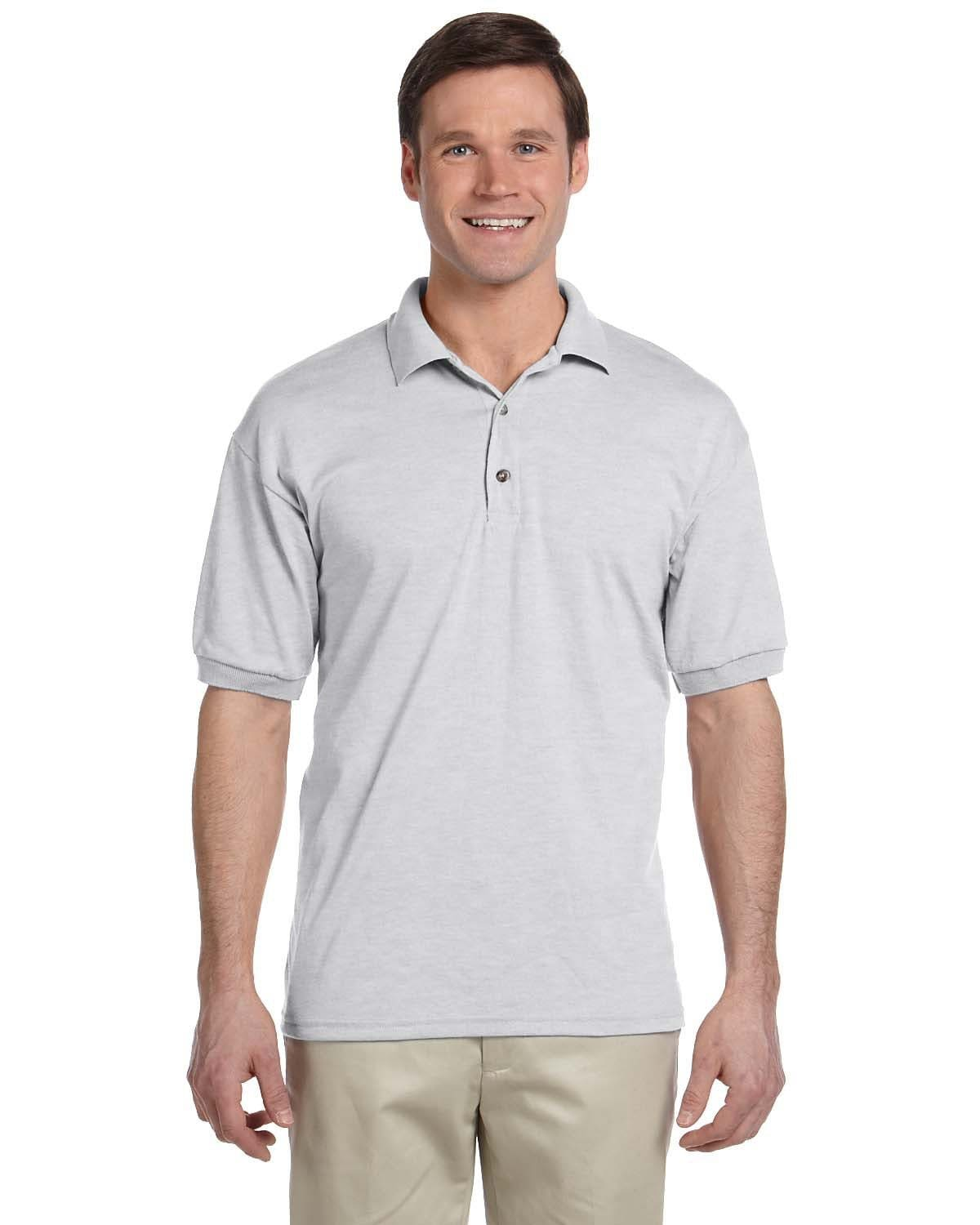g880-adult-6-oz-50-50-jersey-polo-large-xl-Large-ASH GREY-Oasispromos
