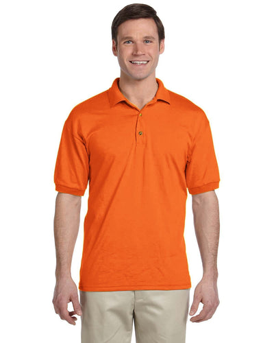 g880-adult-6-oz-50-50-jersey-polo-small-medium-Small-S ORANGE-Oasispromos