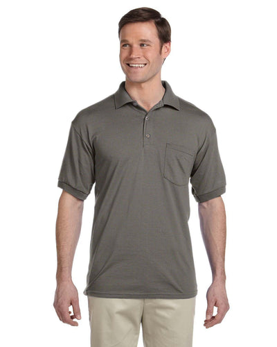 g890-adult-6-oz-50-50-jersey-polo-with-pocket-Large-BLACK-Oasispromos