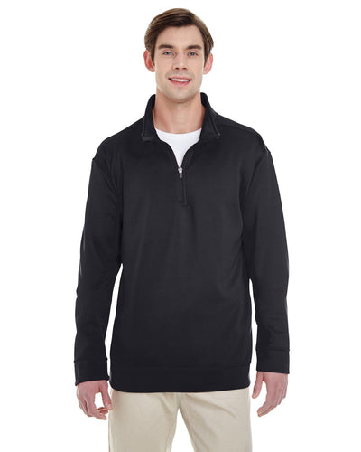 g998-adult-performance-7-oz-tech-quarter-zip-sweatshirt-Small-BLACK-Oasispromos