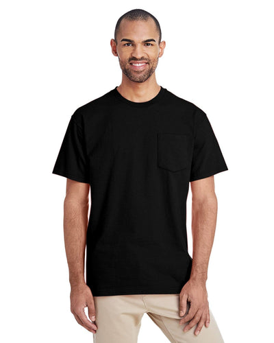 h300-hammer-adult-6-oz-t-shirt-with-pocket-Small-BLACK-Oasispromos