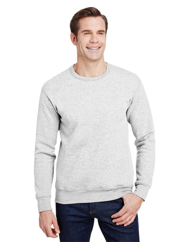 hf000-hammer-adult-9-oz-crewneck-sweatshirt-Small-ASH GREY-Oasispromos