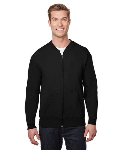 hf700-hammer-adult-9-oz-fleece-full-zip-jacket-XSmall-Black-Oasispromos