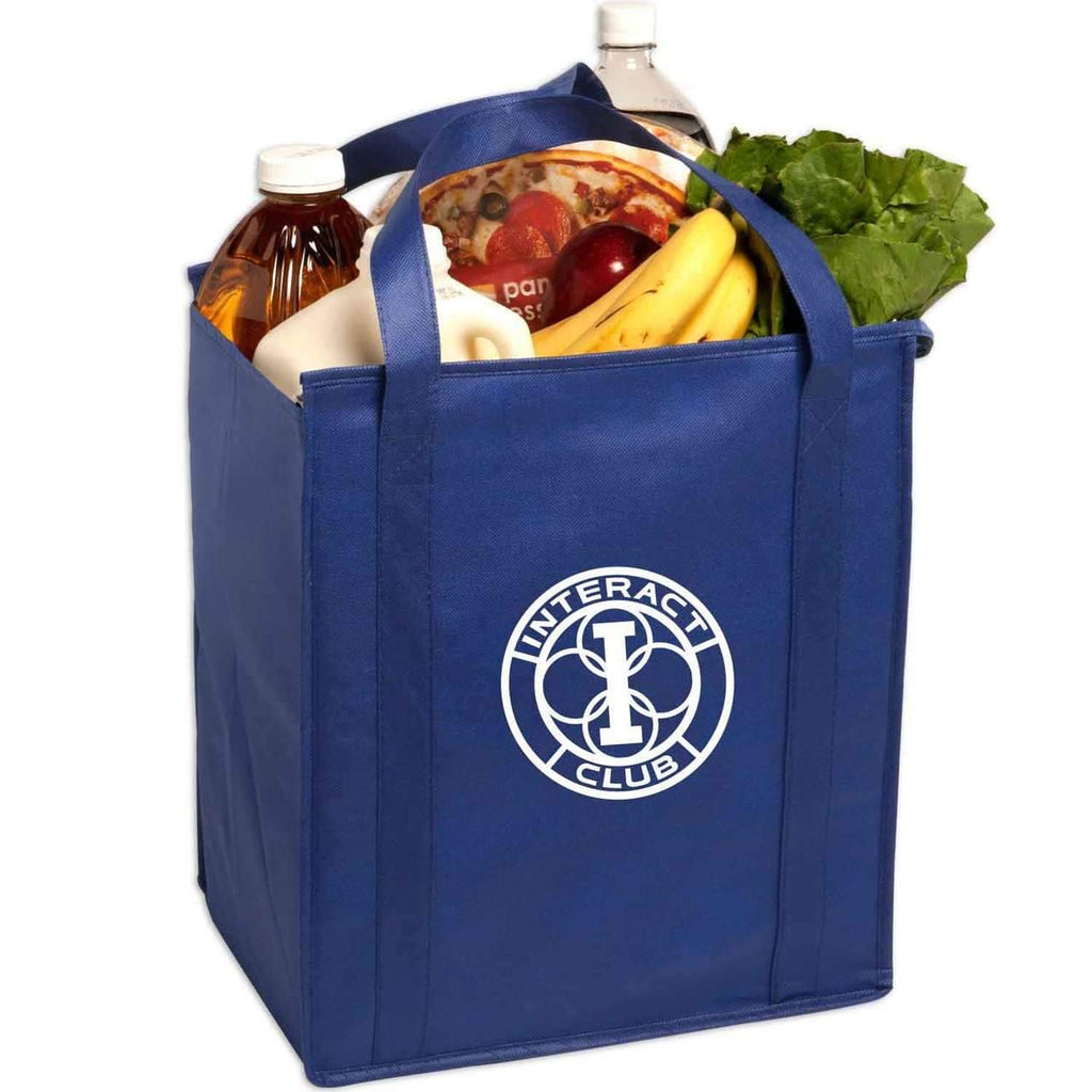 Insulated Large Non-Woven Grocery Tote - Oasis Promos
