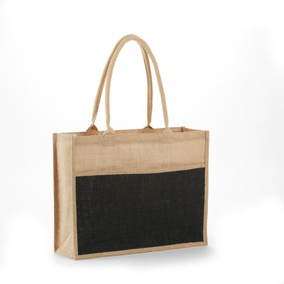 jb-902-all-natural-jute-2-tone-shopping-totes-Natural / Red-Oasispromos