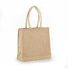 jb-908-all-natural-jute-economy-tote-with-rope-handles-Natural / Navy Blue-Oasispromos
