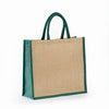 JB-913 All Natural Jute Grocery Tote With Rope Handles