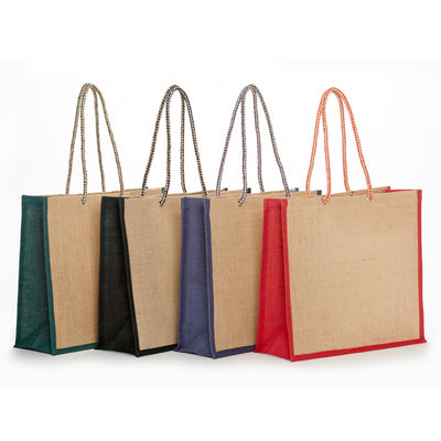 JB-911 All Natural Jute Fashion Tote