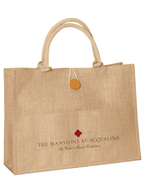 JC0102- Jute Shopping Bag - Oasis Promos