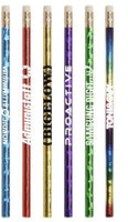 Jo-Bee Prismatic Foil Wrap Pencil - Oasis Promos