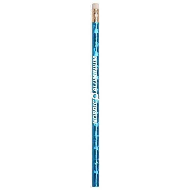 jo-bee-prismatic-foil-wrap-pencil-Blue-Oasispromos