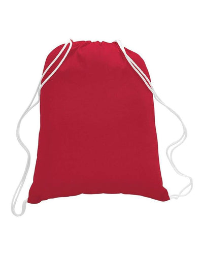 TFW4500L - Large Economical Drawstring Sport Pack / Cinch Bag - Red:11134.preview.jpg