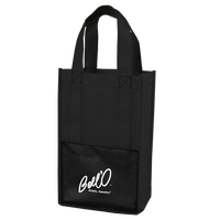 Modena Non-Woven Wine Tote - Black:12042.preview.png