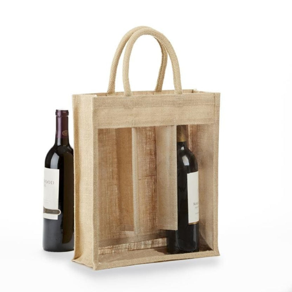 jbwb3-jbwbs3-clear-front-solid-front-3-bottle-jute-wine-bag-Solid Front-Oasispromos