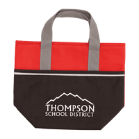 Non-Woven Carry-It Cooler Tote - Red:9642.preview.png
