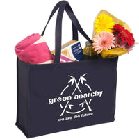 Non-Woven Shopping Tote - Navy:9758.preview.jpg
