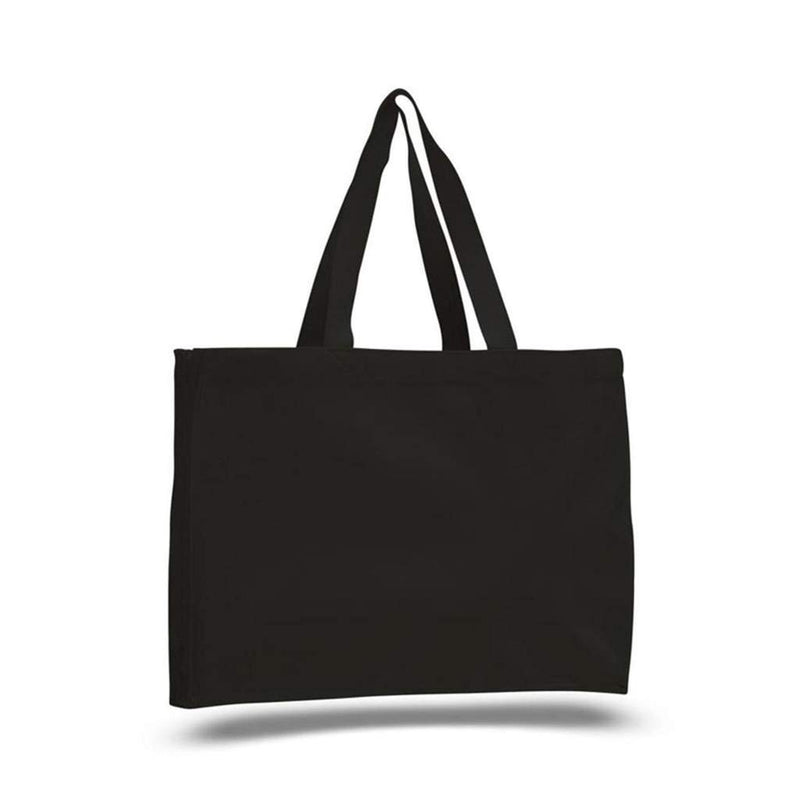 opq750-canvas-gusset-tote-bag-Black-Oasispromos