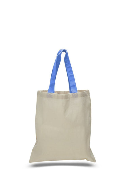 opqtb6000-economical-tote-bag-w-color-handles-Texas Orange-Oasispromos