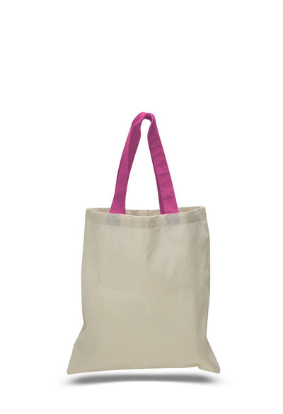opqtb6000-economical-tote-bag-w-color-handles-Kelly Green-Oasispromos