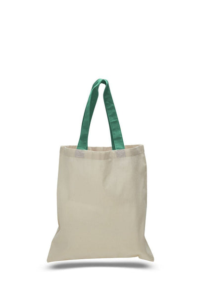 opqtb6000-economical-tote-bag-w-color-handles-Turquoise-Oasispromos