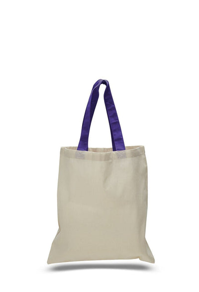 opqtb6000-economical-tote-bag-w-color-handles-Army-Oasispromos