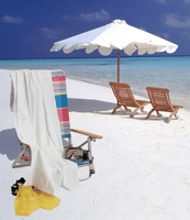 OPQV3560 Velour Beach Towel