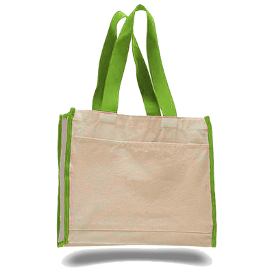 opw1100-canvas-tote-bag-with-color-handles-and-matching-accent-Light Pink-Oasispromos