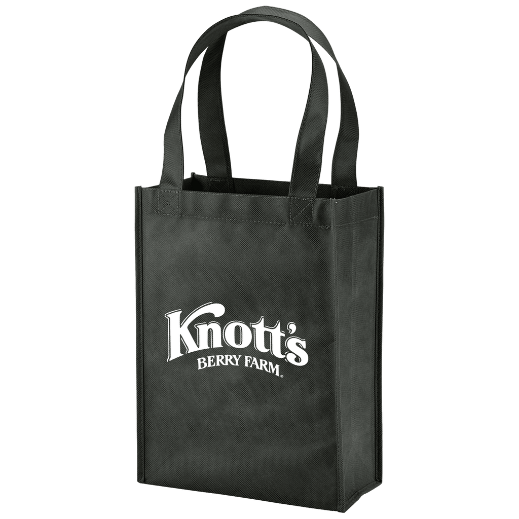 Payson Non-Woven Mini Tote - Black:9705.preview.png