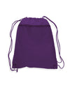 TFW135200 Polyester Cinch Bag With Front Zipper